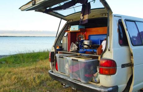 Vanlife Lake Ellesmere, NZ