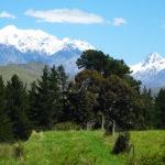 Driving in - Mt Tapuaenuku views