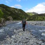 Kaikoura Ranges riverwalking