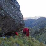 Kaikoura Ranges bivvi cave sunrise