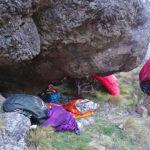 Kaikoura Ranges bivvi cave