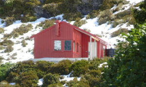 Mount Aspiring Liverpool hut
