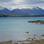 first views of a distant Mt Cook