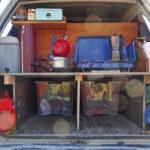 Kitchen + bed platform + storage - done!