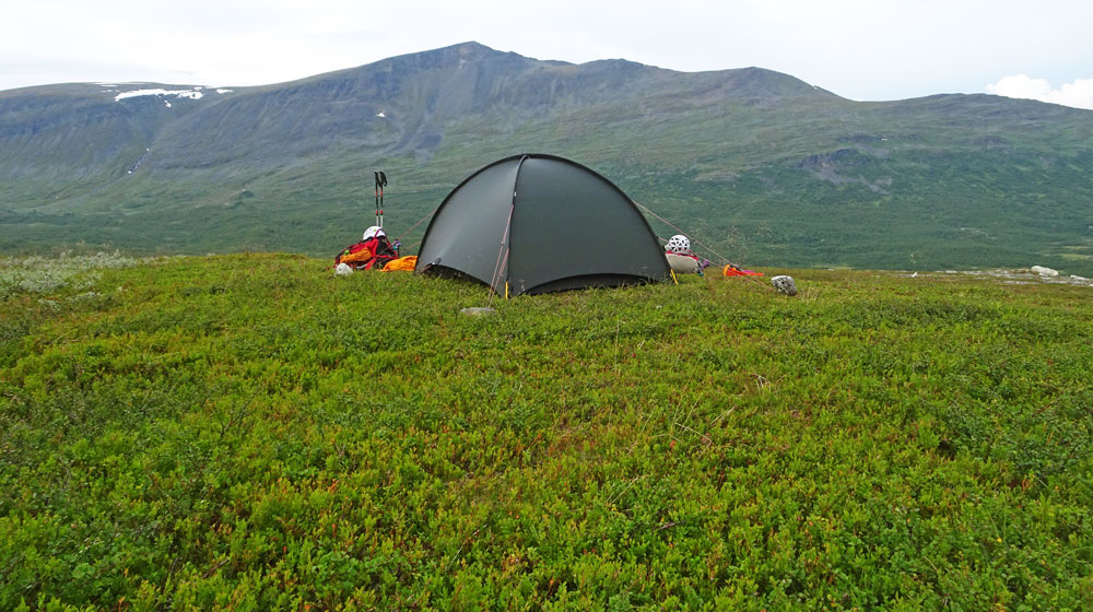 Hilleberg Niak in Sarek National Park