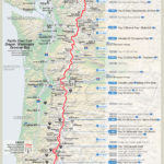 OR+WA resupply map: (courtesy of Halfmile - www.pctmap.net)