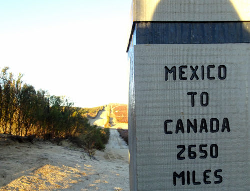 PCT: Mexican border (Campo) — Warner Springs