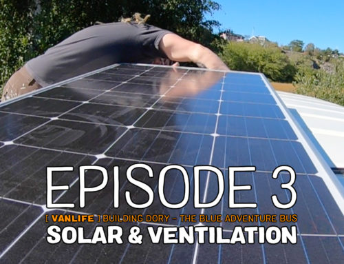 Installing solar panels and ventilation