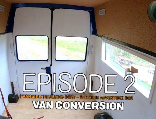 Van conversion part one: foundation work