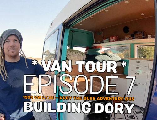 Building Dory – the van tour