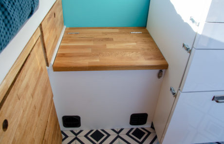 Dory bench seat