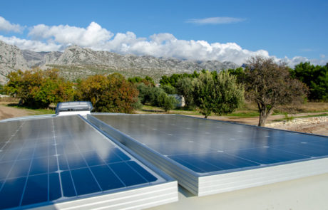Dory solar panels