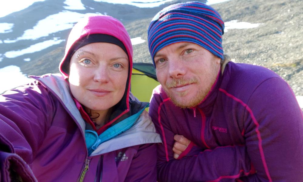 karma + scott mountaineering sarek national park