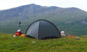 Hilleberg Niak tent in Sarek Sweden