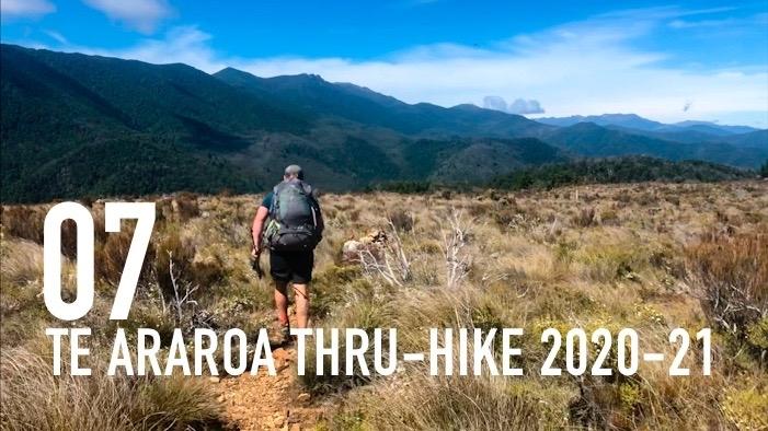 TE ARAROA THRU-HIKE 2020-21: Wellington to Hacket Hut in the Richmond Range (E 07)
